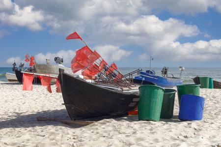 Beach of Baabe,Ruegen,baltic Sea,Mecklenburg-Vorpommern,Germany