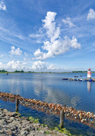Waase on Ummanz Island at baltic Sea,Mecklenburg-Vorpommern,Germany Standard-Bild