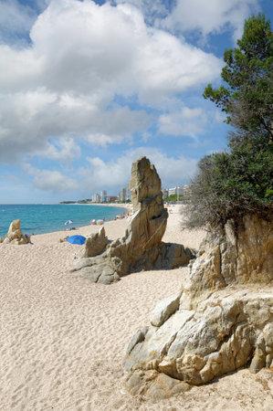 Playa de Aro,Costa Brava,Catalonia,mediterranean Sea,Spain