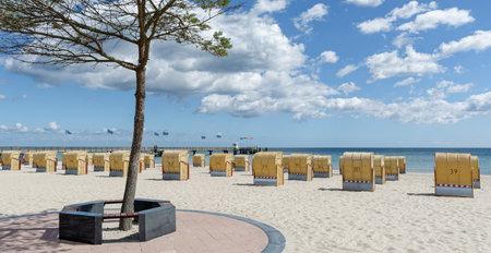 Beach of Dahme,baltic Sea,Schleswig-Holstein,Germany