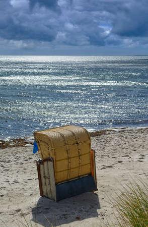 Beach on Fehmarn,baltic Sea,Schleswig-Holstein,Germany Standard-Bild
