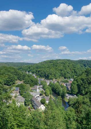 Village of Solingen-Unterburg,Bergisches Land,Germany Standard-Bild