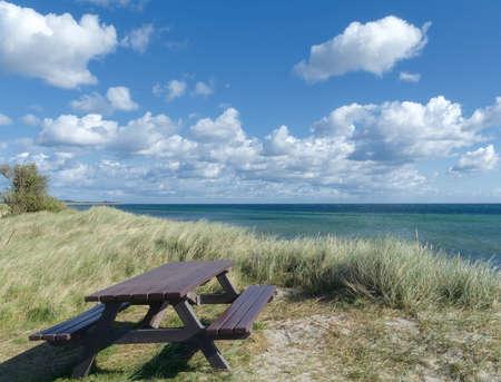Coastal Landscape on Fehmarn,baltic Sea,Schleswig-Holstein,Germany