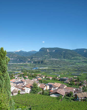 famous Wine Village of Tramin an der Weinstrasse,Trentino,South Tirol,Italy