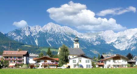 Village of Soell,Tirol,Austria