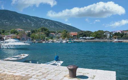 Village of Nerezine on Losinj Island,adriatic Sea,Croatia