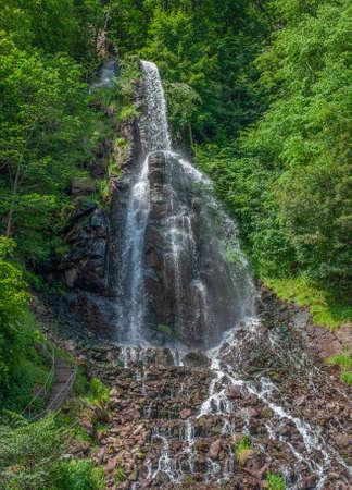 Trusetal Waterfall,Thuringia,Germany