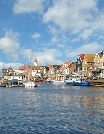 Village of Urk,Ijsselmeer,Netherlands Standard-Bild