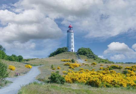 Lighthouse on Hiddensee,baltic Sea,Mecklenburg-Vorpommern,Germany