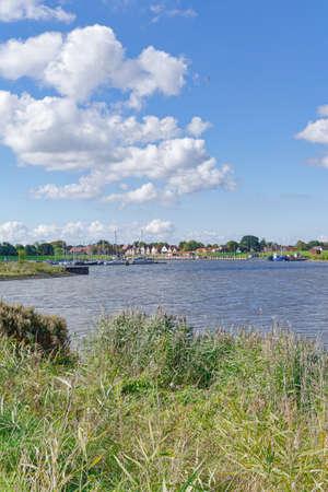 Greetsiel at North Sea in East Frisia,Germany