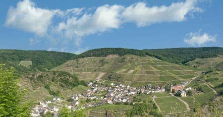 Wine Village of Mayschoss in Ahrtal,Rhineland-Palatinate,Germany