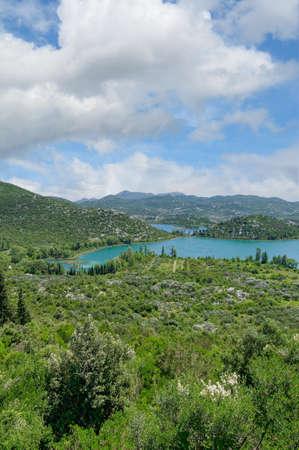 Bacina Lakes,Makarska Riviera,Adriatic Sea,Dalmatia,Croatia Standard-Bild