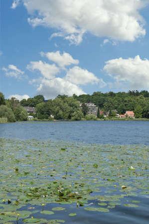 Lake Kellersee near Malente in Holstein Switzerland region,Schleswig-Holstein,Germany Standard-Bild