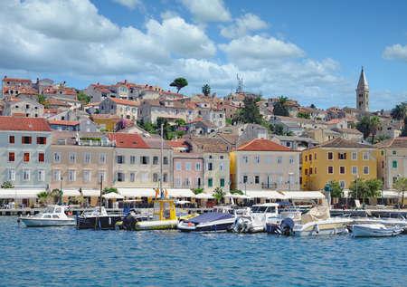 Village of Mali Losinj on Losinj Island,adriatic Sea,Croatia