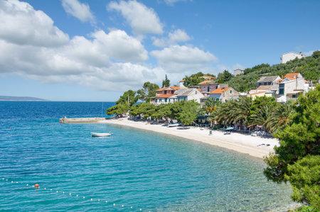 Village of Bratus at Makarska Riviera,Adriatic Sea,Dalmatia,Croatia
