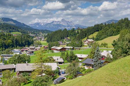 Village of Fieberbrunn,Tirol,Austria