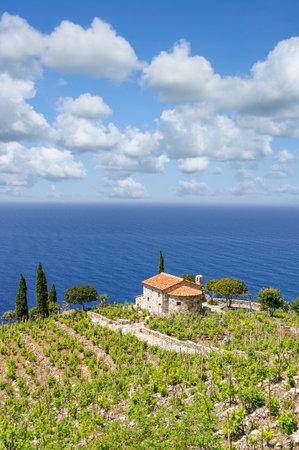 Coastal Landscape on Island of Elba,Tuscany,mediterranean Sea,Italy