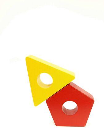 Yellow Red Block Arrow