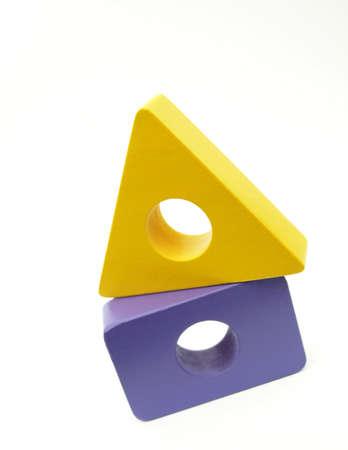 Yellow Purple Block House