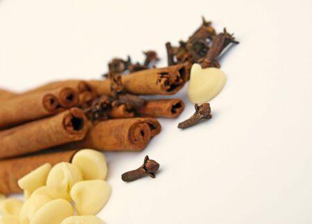 Cinnamon cloves chocolate