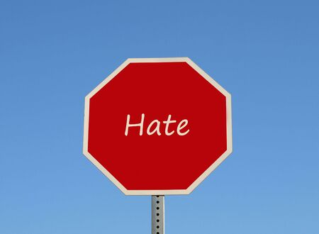 Hate sign