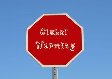 ストップ地球温暖化 (草)