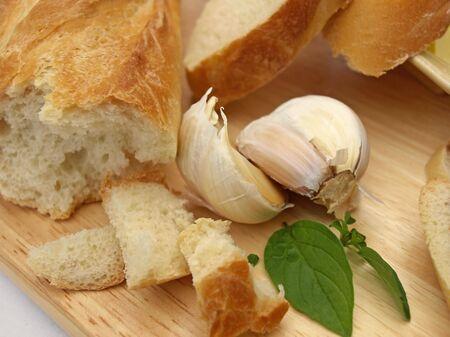 ニンニクのパン