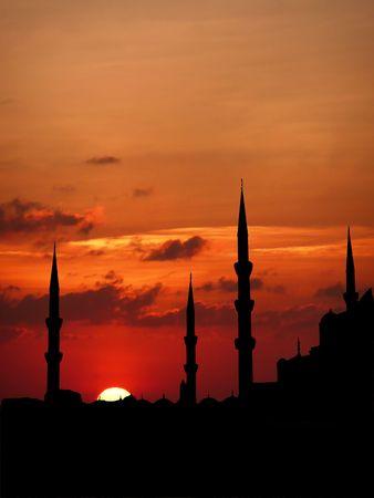 日没時のタレット