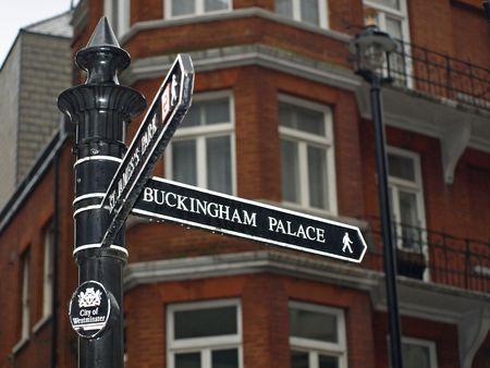 ロンドン ・ ストリート サイン