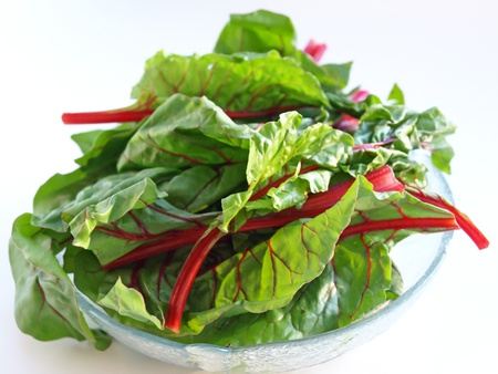 roughage: Chard in bowl full