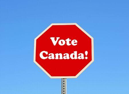 投票カナダ