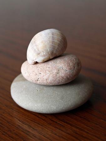 摩耗や風化岩や海からシェル