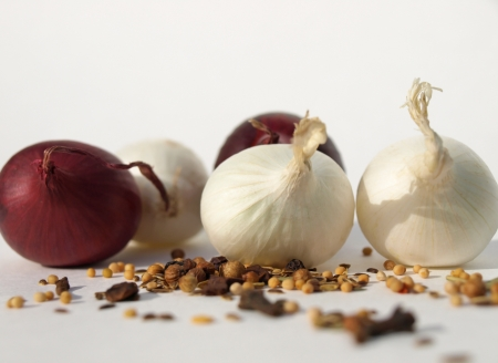 Onions with spices