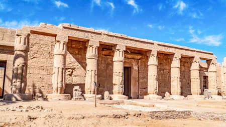 Mortuary Temple of Seti I in Luxor, Egypt