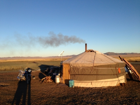 nomads: Yurt from Nomads in Mongolia