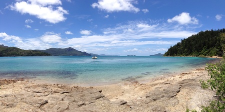 whitsundays: Whitsundays panorama