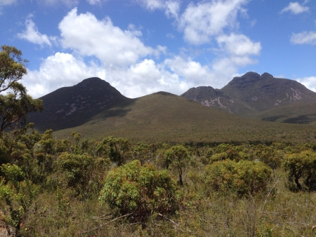 mountain ranges: Stirling ranges Stock Photo