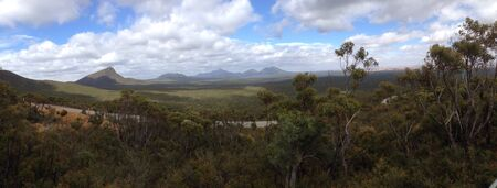 ranges: Stirling ranges panorama