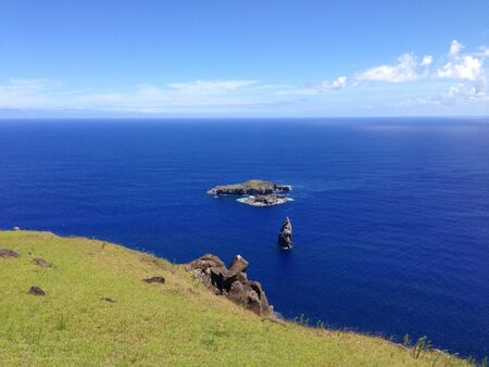 motu: Orongo Rapa Nui Easter Island