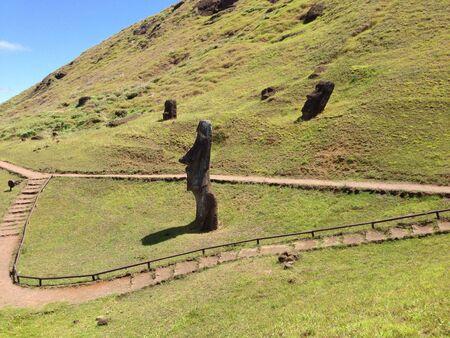rapa nui: Rano Raraku Rapa Nui Isla de Pascua