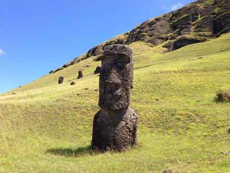 rapa: Rano raraku Rapa Nui Easter Island