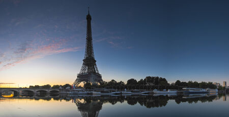 ile de la cite: Iconic Eiffel Tower (1889) symbol of Paris and Champ-De-Mars park.