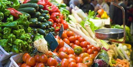 Food market, Barcelona photo
