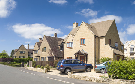 cotswold: Traditional rural homes and immaculate gardens.