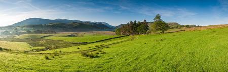 Rural scenic landscape, Lake District, UK