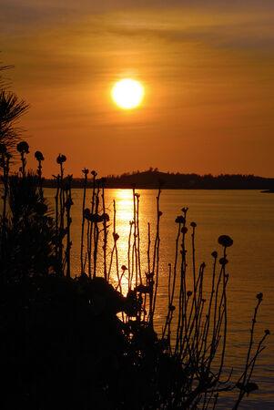bermuda: Bermuda sunset Stock Photo
