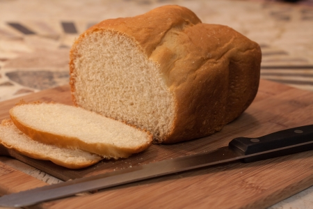 bakery products: bread loaf