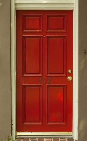 entry door red