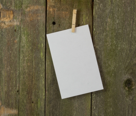 menue: blank memo or menue space on wood