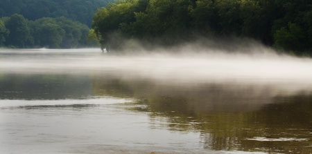 river stones: The River Fog II